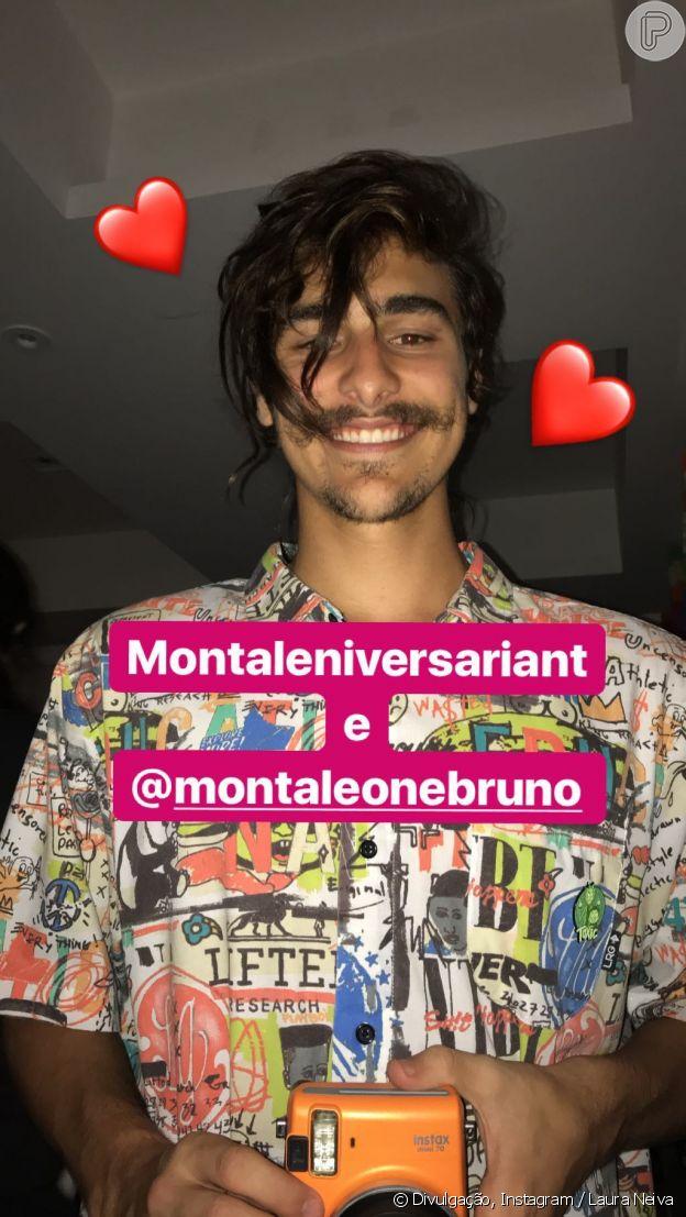 Bruno Montaleone foi fotografado pela amiga Luara Neiva durante sua festa de aniversário