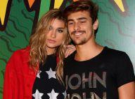 Sasha Meneghel exibe foto de beijo no namorado, Bruno Montaleone: 'Amor meu'