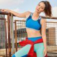 Nathália Dill contou ter mais dificuldade em conseguir tonificar os músculos do que em perder peso