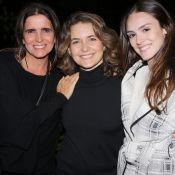 Rivais só na ficção! Cláudia Abreu recebe Malu Mader e Isabelle Drummond em peça