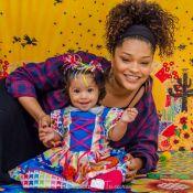 Clima junino em família: mães famosas participam de arraial com filhos. Fotos!