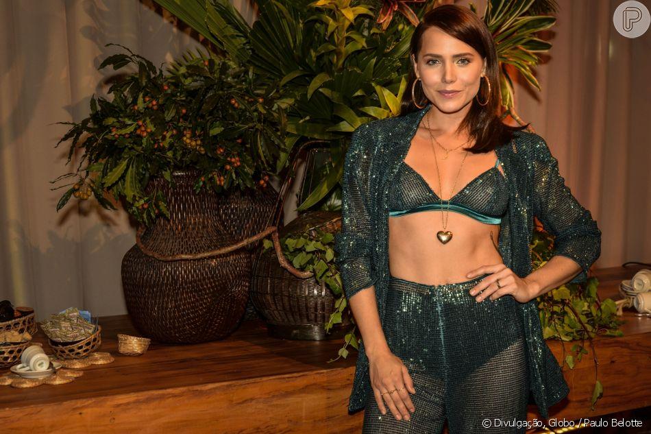Leticia Colin falou sobre cenas de sexo com Chay Suede na novela 'Segundo Sol' nesta quinta-feira, 21 de junho de 2018
