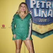 Marília Mendonça elege macaquinho verde com renda para show em Petrolina. Fotos!