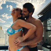 Sabrina Sato exibe barriga de 4 meses em foto e Duda Nagle elogia: 'Mais linda'