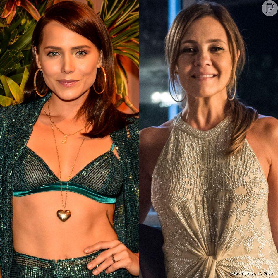 Rosa (Letícia Colin) recebe R$ 300 mil de Laureta (Adriana Esteves) e vira sócia da cafetina em seu bordel na novela 'Segundo Sol'