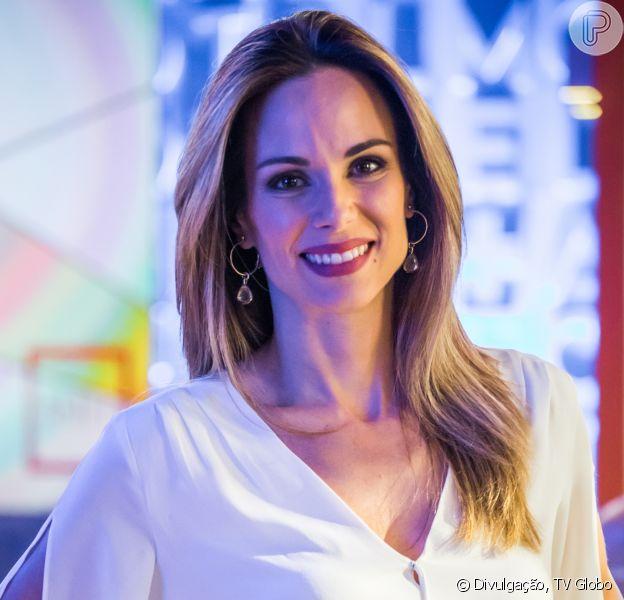 Ana Furtado se emociona com supresa no programa 'Encontro com Fátima Bernardes' nesta segunda-feira, dia 25 de junho de 2018