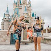 Aline Gotschalg e Fernando Medeiros curtem viagem a Orlando com filho. Fotos!