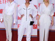 Fernanda Vasconcellos e mais atrizes apostam em looks brancos para pré-estreia