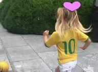 Gisele Bündchen mostra filha jogando bola com camiseta do Brasil. Veja vídeo!