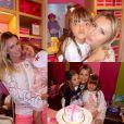 Ana Paula Siebert publica foto no aniversário de Rafaella Justus, em Miami