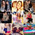 Ticiane Pinheiro faz montagem com fotos de Rafaella Justus no dia do aniversário da filha