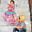 Wesley Safdão é pai de Yhudi, de 7 anos, fruto de seu relacionamento com Mileide Mihale, e Ysis, de seu casamento com Thyane Dantas