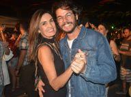 Túlio celebra 8 meses de namoro e Fátima Bernardes se emociona: 'Gol para você'