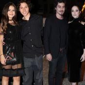 Maisa Silva e Bia Arantes se reúnem em jantar com namorados: 'Double date'
