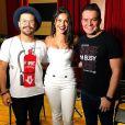 Ex-BBB Emilly Araújo  produziu vídeos   para as redes da dupla Marcos & Belutti