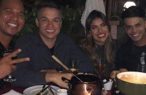 De look novo, Munik Nunes festeja 22 anos e ganha declaração do marido: 'Te amo'