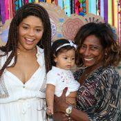 Filha de Juliana Alves acompanhou atriz em desfile infantil na Bahia. Veja fotos