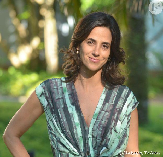 Mariana Lima, a intérprete da promoter Roberta, na novela 'O Rebu', fala sobre seu conceito de beleza