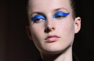 Maquiagem bem marcada e em estilo anos 80 promete ter retorno triunfal na moda