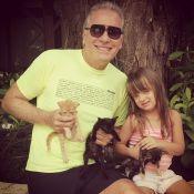 Roberto Justus monta playground para Rafaella em cobertura comprada de Faustão