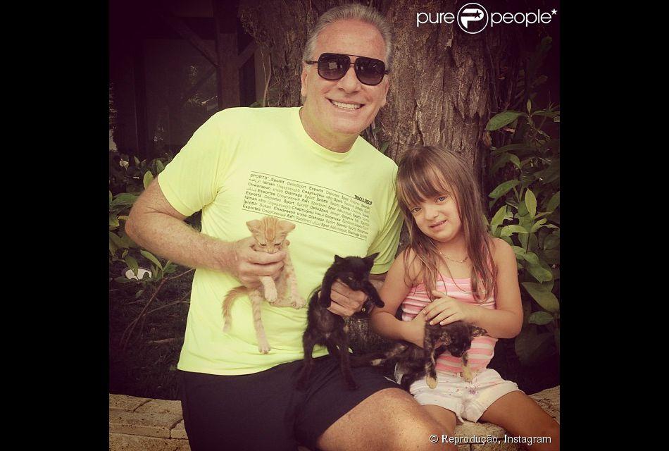 Roberto Justus fez playground para Rafaella em sua nova cobertura no Morumbi, São Paulo. 'É um paizão', afirma Beto Amaral, arquiteto responsável pela reforma do local