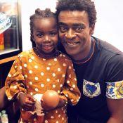 Bruno Gagliasso mostra encontro da filha, Títi, com Seu Jorge: 'Primeiro show'