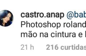 Marília Mendonça ironiza comentário de uso de Photoshop em foto: 'Desmascarada'