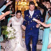 Amanda Djehdian e o empresário Mateus Hoffman se casam em SP: 'Tudo perfeito'