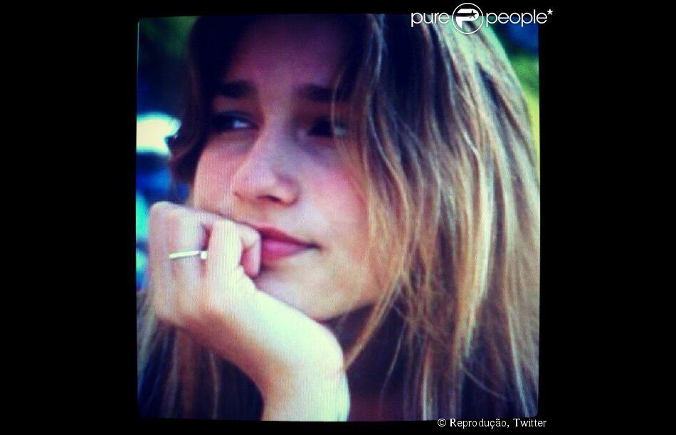 Sasha Meneghel Szafir completa 16 anos no dia 28 de julho de 2014