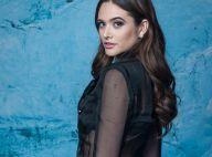 Transparência no look: Juliana Paiva usa blazer translúcido D&G ao lançar novela