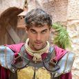 Caius (Felipe Roque) é um dos soldados mais rígidos na via crúcis do Messias, na novela 'Jesus'
