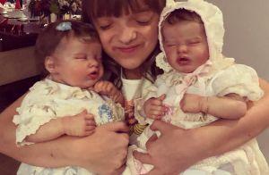 Ticiane Pinheiro mostra filha, Rafa Justus, com bonecas reborn:'Minhas netinhas'