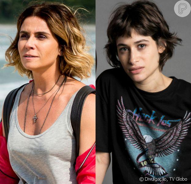 Luzia (Giovanna Antonelli) é atingida por um tiro no peito ao tentar salvar a vida de Manu (Luisa Arraes) no capítulo que vai ao ar dia 13 de agosto de 2018 na novela 'Segundo Sol'