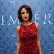 Andreia Horta, de 'Império', sobre trabalhar com namorado: 'Não mudou nada'