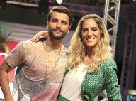 Bruno Gagliasso e Giovanna Ewbank são estrelas de desfile em São Paulo