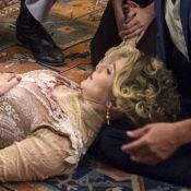 'Orgulho e Paixão': Josephine acusa Cecília ao se atirar de escada. 'Empurrou!'