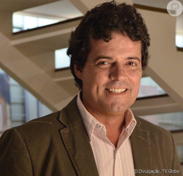 Felipe Camargo completa 54 anos nesta sexta-feira, 1 de agosto de 2014