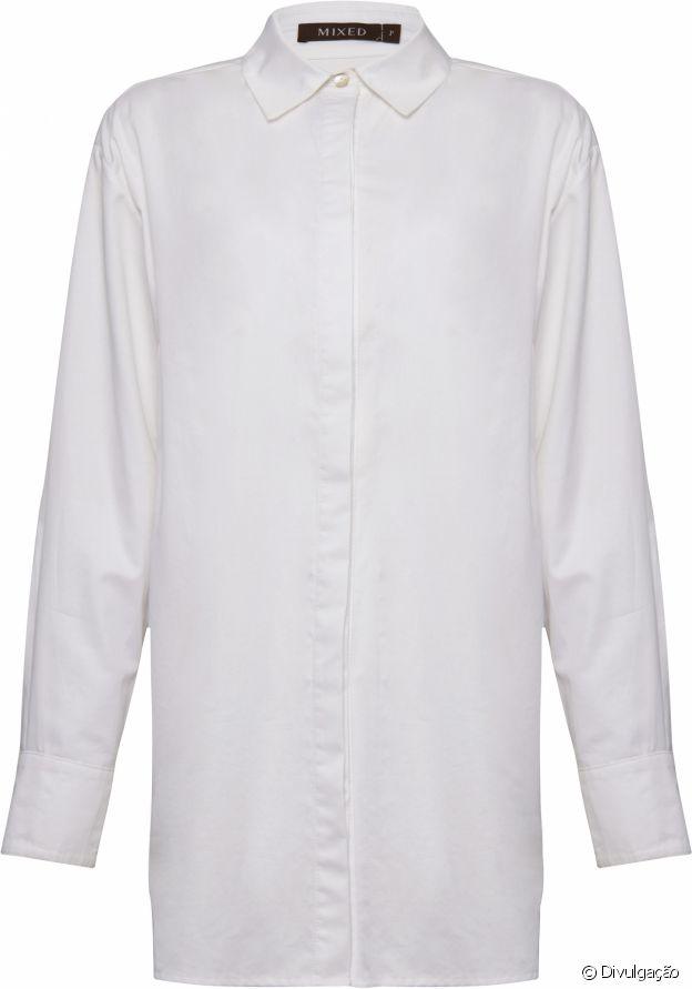 Itens básicos do closet: camisa Mixed, R$ 940