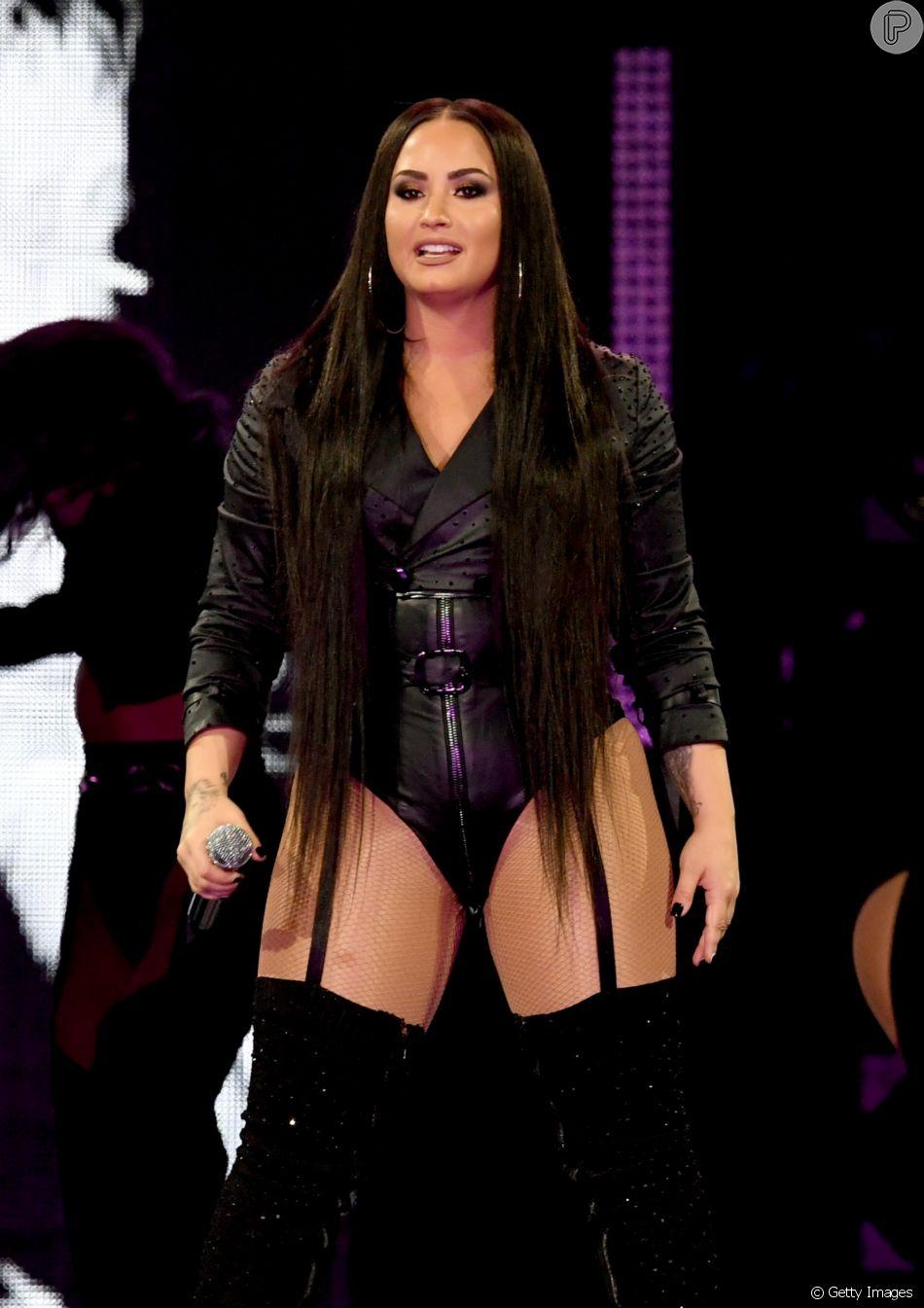 Demi Lovato deu festa em sua casa em Hollywood Hills, em Los Angeles, antes de ter overdose nessa terça-feira, dia 24 de julho de 2018