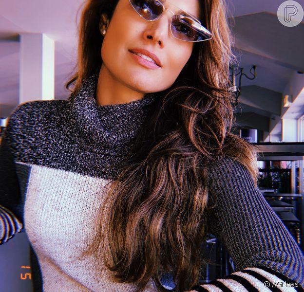 Polêmica fashion: óculos retrô em estilo gatinho é tendência adotada por Patrícia Poeta