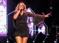 Marília Mendonça usa vestido tubinho e exibe novas curvas em show. Fotos!
