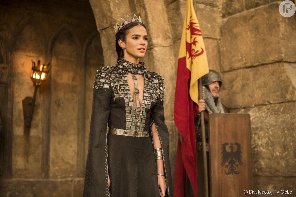 Catarina (Bruna Marquezine) não vai se arrepender de seus crimes no último capítulo da novela 'Deus Salve o Rei': 'Faria tudo de novo'