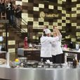 Hugo e Maria Antônia, finalistas do 'MasterChef Brasil', vibram ao terminarem os pratos na final do programa