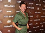 Estilo uniforme: Fabiula Nascimento aposta em macacão retrô em estreia de filme