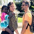 Bruno Gagliasso e Giovanna Ewbank são pais de Títi, de 5 anos