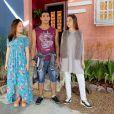 Mirela (Larissa Manoela) diz que se Raquel ( Isabella Moreira ) roubar Guilherme ( Lawrran Couto ) dela, elas não serão mais amigas na novela 'As Aventuras de Poliana'