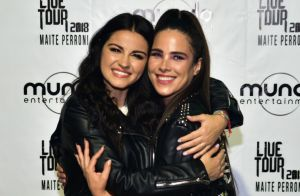 Wanessa Camargo canta com Maitê Perroni em show em São Paulo: 'Energia sincera'