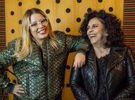 Marília Mendonça encontra Gal Costa para gravação juntas e assume: 'Tô tímida'