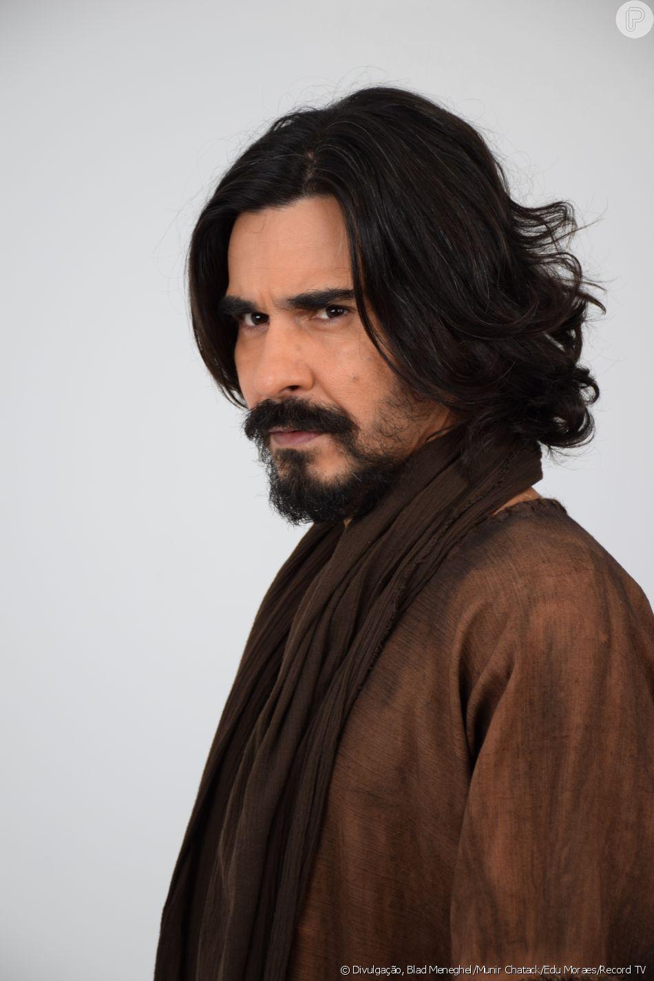 André Gonçalves defende Barrabás, seu personagem na novela 'Jesus': 'Ele luta pelo povo'