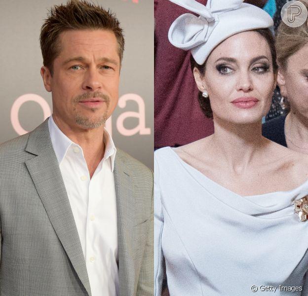 Brad Pitt é defendido por amigos ao ser acusado por Angelina Jolie de que não paga a pensão alimentícia devida aos filhos